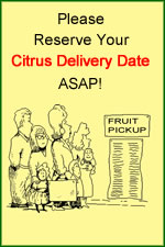 Citrus Fruit Delivery Date