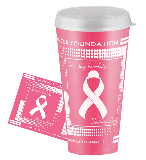 Breast Cancer Sports Tumbler
